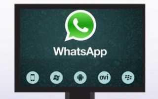 WhatsApp для компьютера – как установить на разные операционные системы