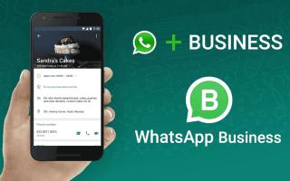WhatsApp Business для iPhone