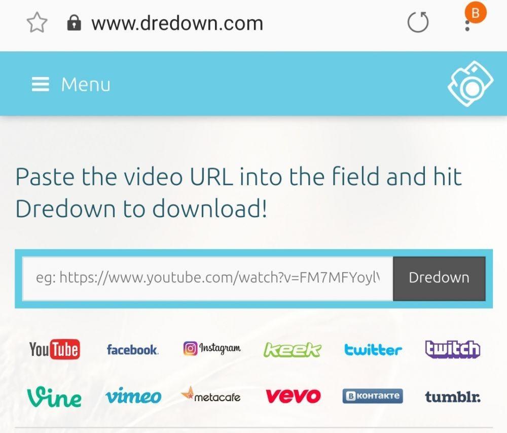 Загрузка видео с помощью сервиса