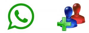 добавление в группу Whatsapp