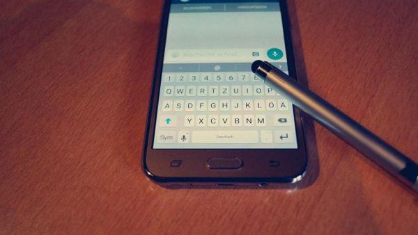 Сообщение на мобильном телефоне