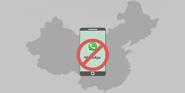 Почему в Китае не работает whatsapp