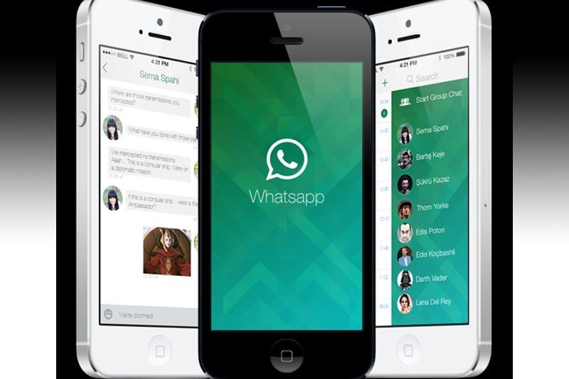 Приложение «WhatsApp» на «Айфон»