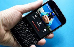 Как работает WhatsApp на BlackBerry