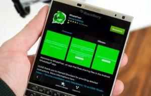 Как установить и использовать WhatsApp для BlackBerry