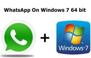 Установка WhatsApp на Windows 7