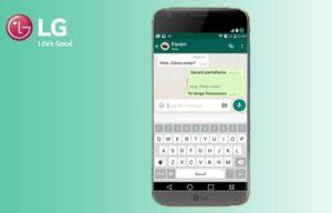 Установка WhatsApp для LG